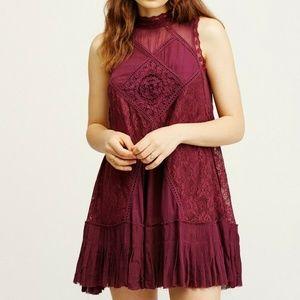 Free People Fp One Angel Lace  Tunic Dress XS